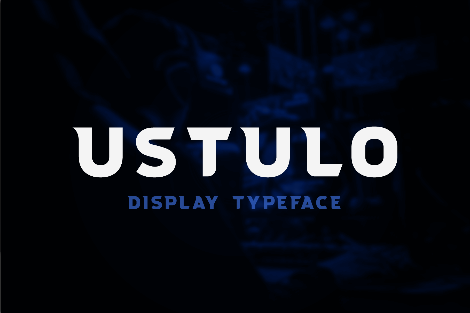 Ustulo Display Typeface